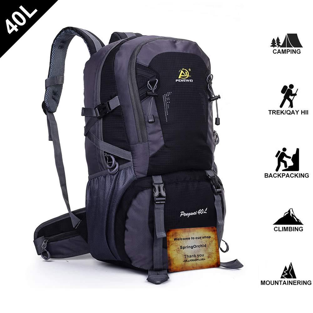 fopor Camping Hiking Daypacks Backpack – Water Resistant Trekking Rucksack Men Women