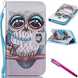 Galaxy J3 / J310 Case, Firefish Kickstand Card Slots Cash Holder Dual Layer Impact Resistant Case Cover with Wrist Strap Magnetic Snap Closure for Samsung Galaxy J3 / J310 59 Samsung Galaxy J3 (2015 Version) / J310 (2016 Version) Case - Protective case precisely designed for Samsung Galaxy J3 (2015 Version) / J310 (2016 Version) The case is lightweight and slim fit, ultra slim folio type case to minimize bulk & weight. Make your phone more attractive and more practical with this stylish case Adjustable stand viewing angle to comfortably enjoy face-time, video-watching, and messaging