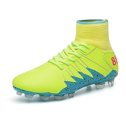 Botas de fútbol Botines de fútbol Zapatos de fútbol Antideslizante para niños Anti-Shake /