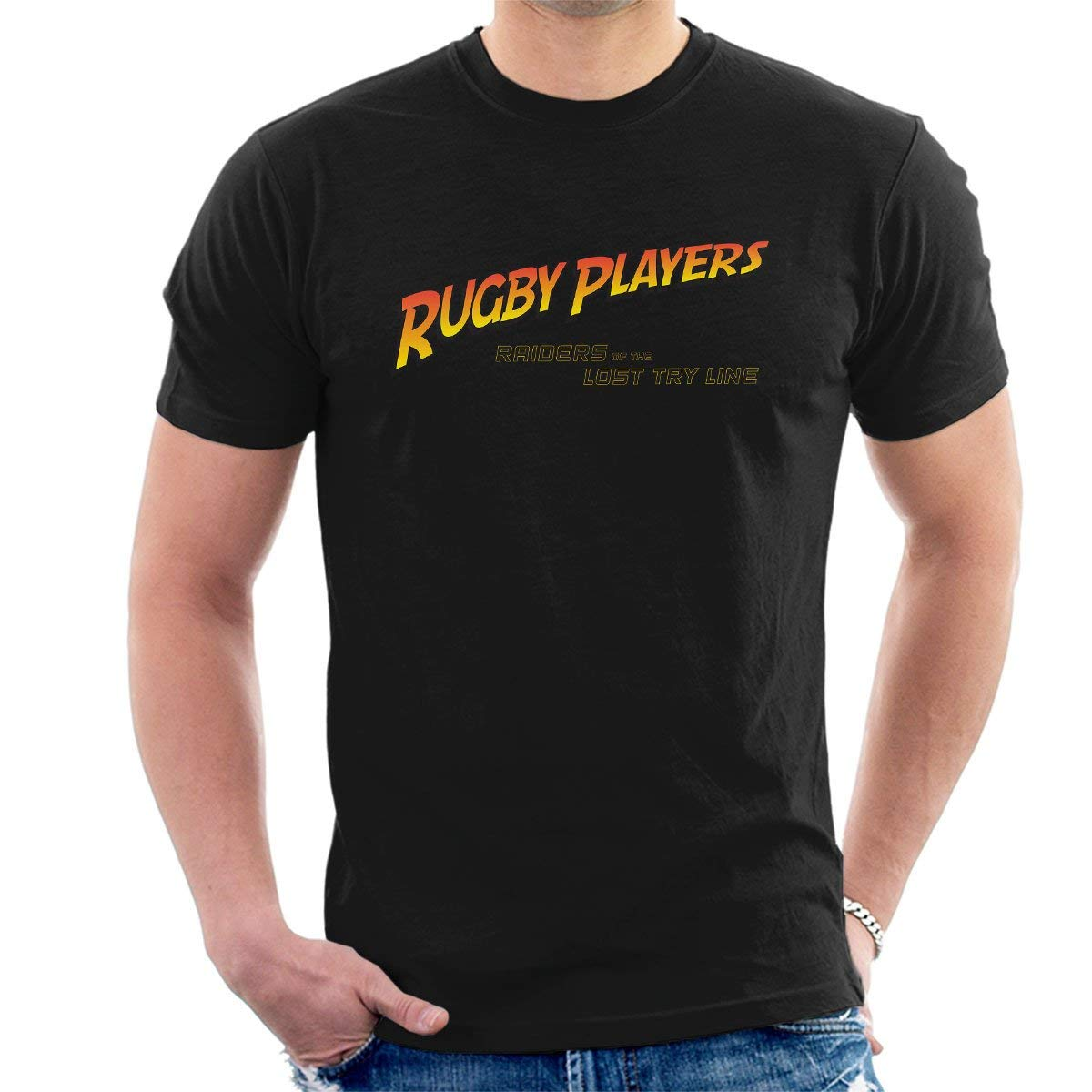 Indiana Jones Rugby Raiders Of The Lost Try Line S Tshirt