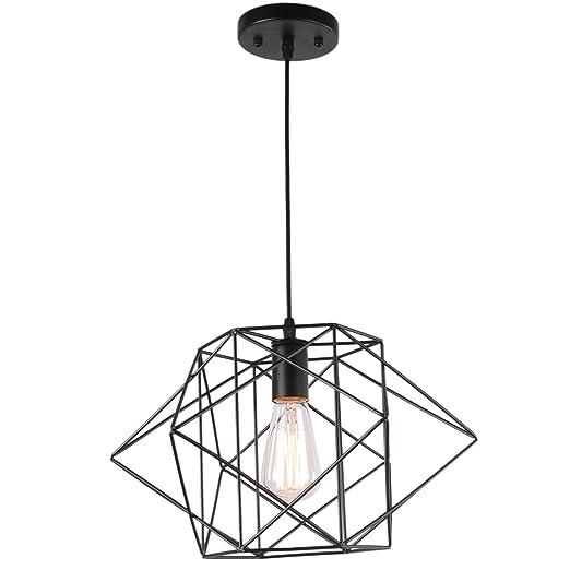 Amazon.com: Unitary marca moderno negro Metal Geometría ...