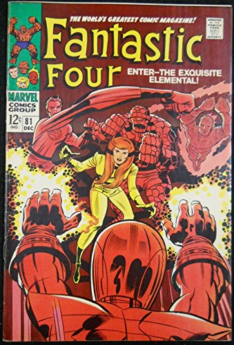 Crystal Superhero Costume (FANTASTIC FOUR #81 VF- CRYSTAL JOINS & DONS COSTUME)