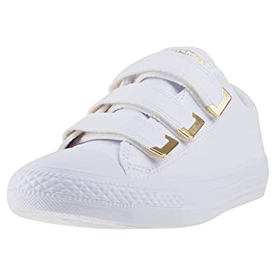 Converse Women s Chuck Taylor All Star 3V Ox Casual Shoe  Amazon.co.uk   Shoes   Bags be7792422f