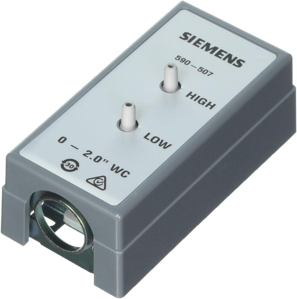 Siemens 590-507 Differential Pressure Sensor, Air