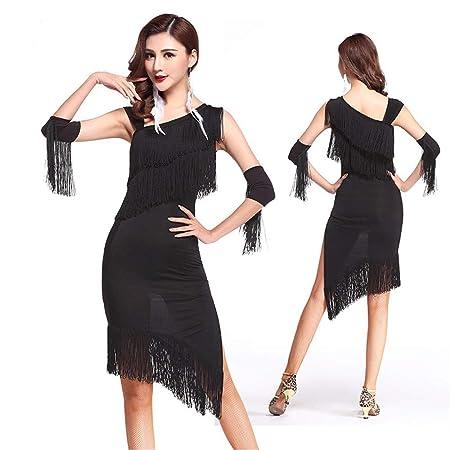 Vestido de baile latino para mujer Vestido de baile latino con ...