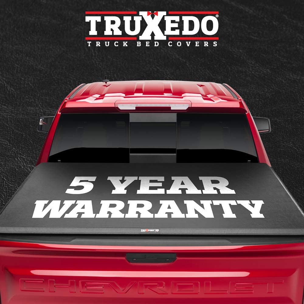 TruXedo TruXport Soft Roll Up Truck Bed Tonneau Cover | 273901 | fits 14-20 Toyota Tundra w/Track System 5'6