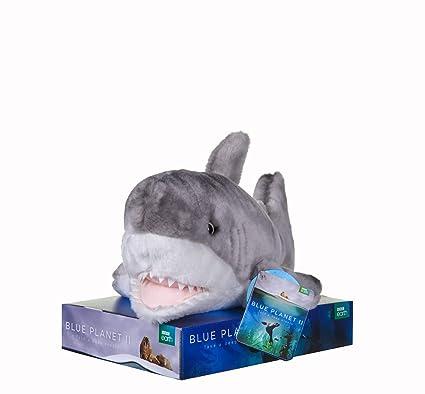 Amazon.com: Posh Paws BBC Blue Planet II Shark Soft Toy with ...