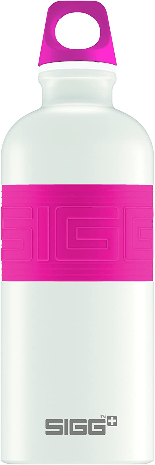 Sigg CYD Pure Touch Water Bottle White//Pink 0.6 L Sigg USA 8540.80