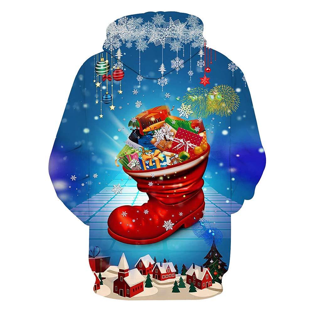 Otoño e Invierno Traje de Navidad Sudadera con Capucha con ...