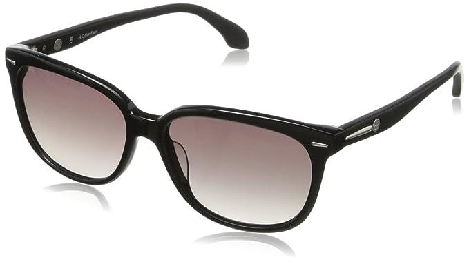 Calvin klein cK cK4215S 001 lunettes de soleil unisexe (noir ... 38b103a96b23