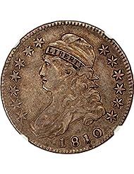 1810 P Bust Half Dollars Half Dollar VF35 NGC