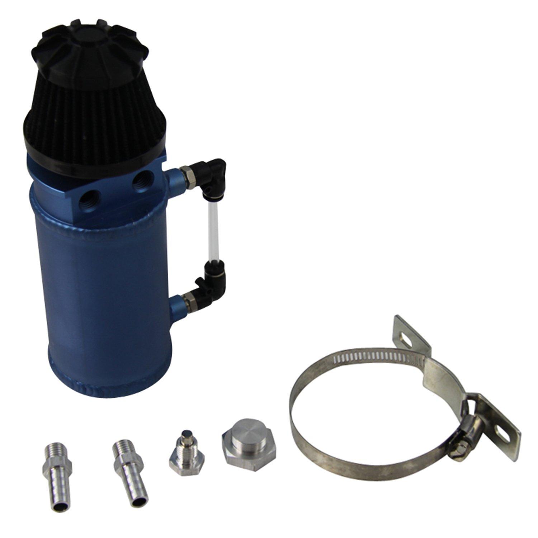 ALLOYWORKS Pro Aluminum Oil Reservoir Catch Can Tank W/ Breather Filter Baffled by ALLOYWORKS (Image #7)