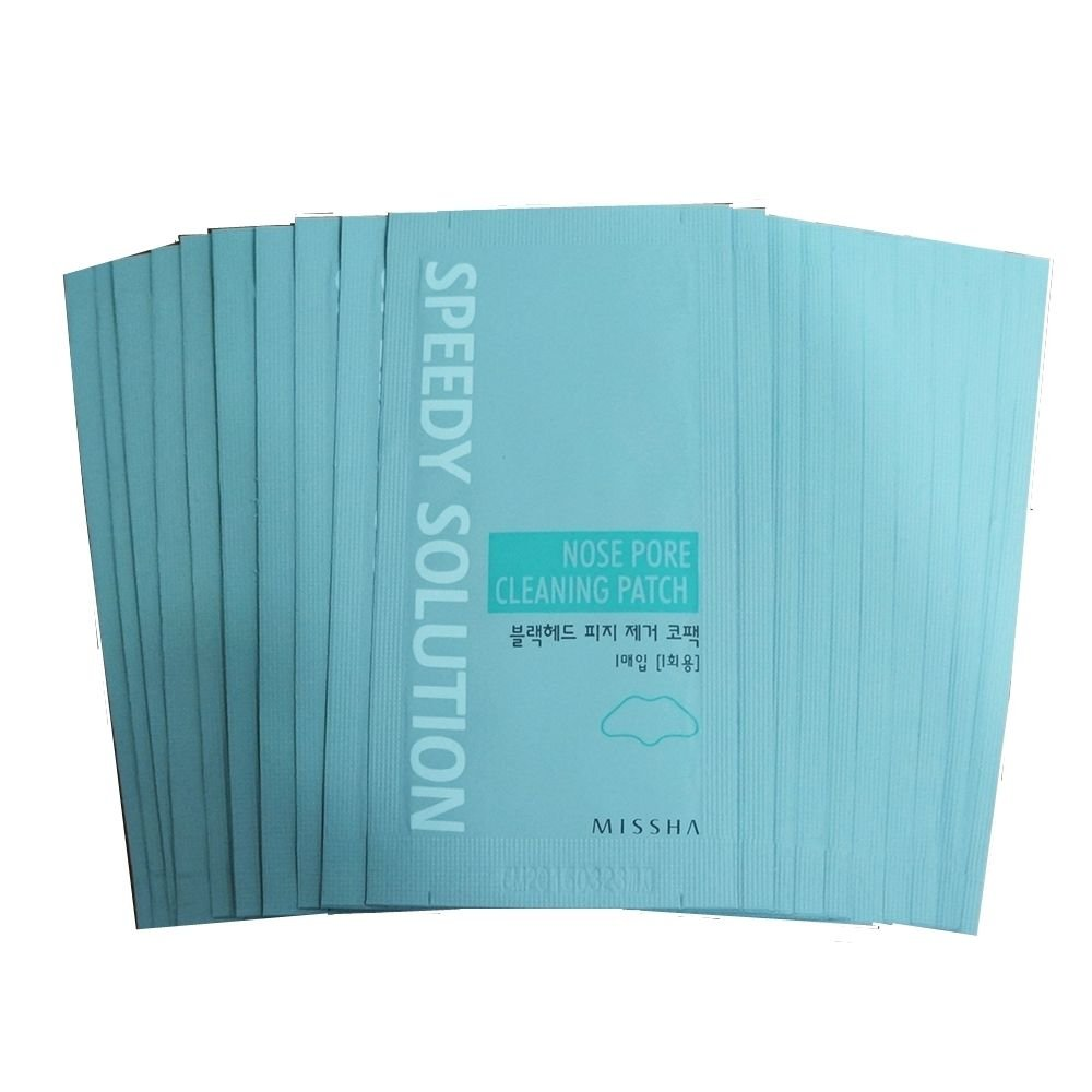 Missha Nose Pore Clearing Patch 30pc Blackhead Remover Nose Strip
