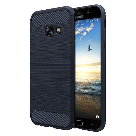 Simpeak Funda Compatible Samsung Galaxy A3 2017, Funda Samsung Galaxy A3 2017 Carcasas Samsung A3 2017 Cases Suave TPU Anti Deslizamiento (4,7 ...