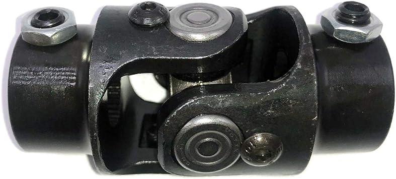 """1/"""" DD X 3//4/"""" DD Single Chrome Universal Steering U Joint Hot Rod GM Ford Mopar"""