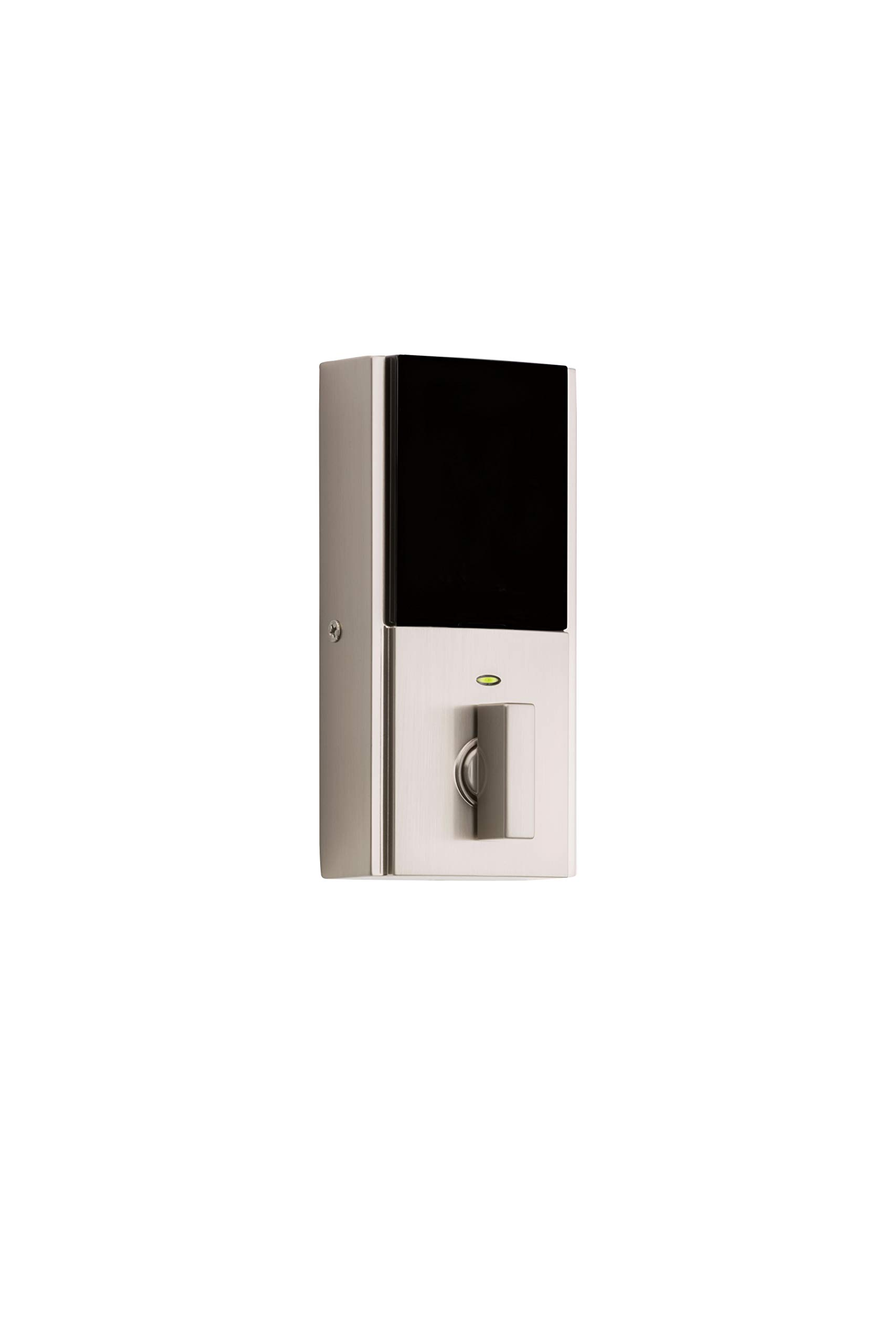 Kwikset 99250-206 Kevo 2nd Gen Contemporary Square Single Cylinder Touch-to-Open Bluetooth Deadbolt Satin Nickel by Kwikset (Image #2)