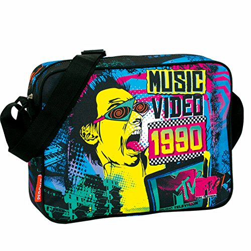 MTV–Umhängetasche Postbote, 38x 28cm (Montichelvo 21373)