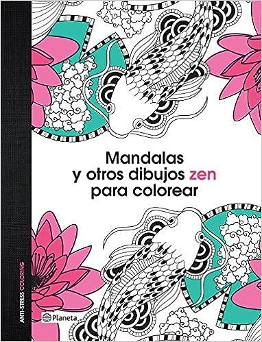 Amazon.com: Mandalas y otros dibujos zen para colorear (Spanish ...