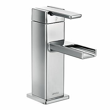 Moen S6705 90 Degree One Handle Low Arc Open Waterway Bathroom