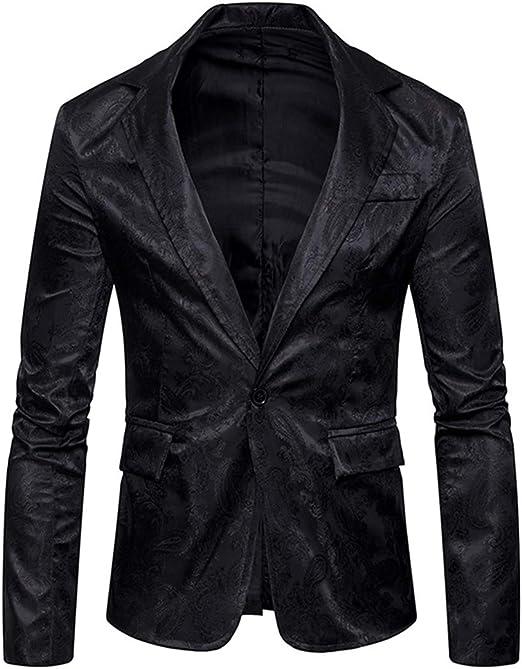 Men/'s Slim Fit Formal Casual One Button Suit Corduroy Blazer Coat jacket Tops