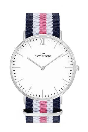 Reloj mujer RELOJ DE pulsera reloj de hombre unisex mujer hombre reloj Relojes colores plata plateado ...