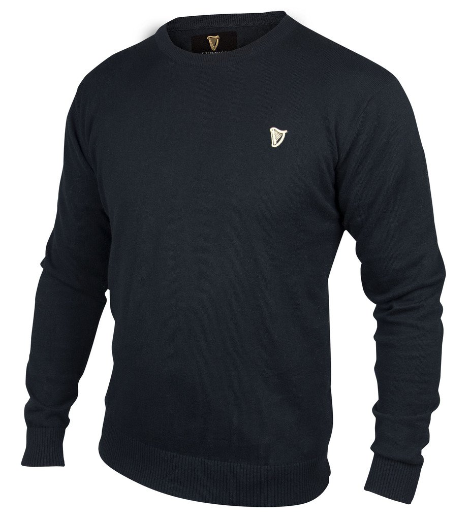 Guinness Black Cotton Sweater (XX-Large)