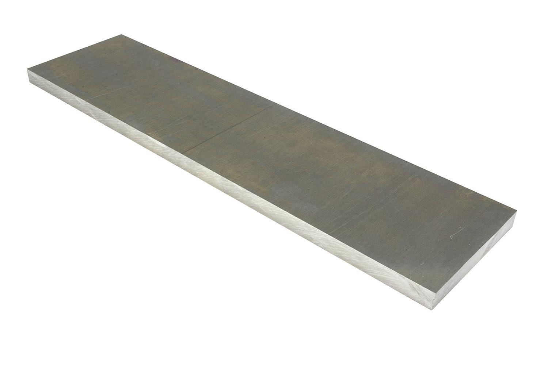 "TEMCo 1/4 Inch 3""x12"" 6061 Aluminum Tooling Flat Sheet Plate Bar Mill Stock"