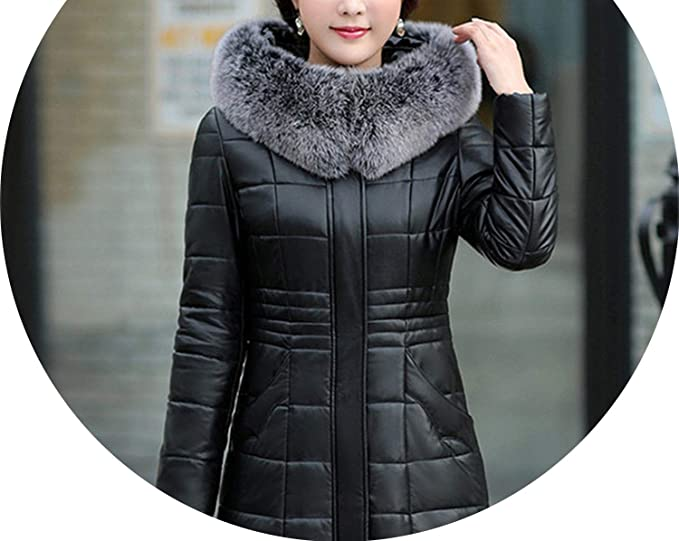 Amazon.com: Fashion Jacket Collar White Duck Down Jackets ...
