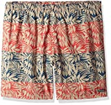 Columbia Men's Dippers Water Short-Big, Red Spark Tropic Leaves, 2Xx8