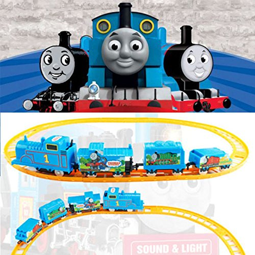 [DIY Electric Tomas Train Handcrafted Kid Developmental Education Toys Kids Gifts] (Star Wars Kids Costumes Diy)