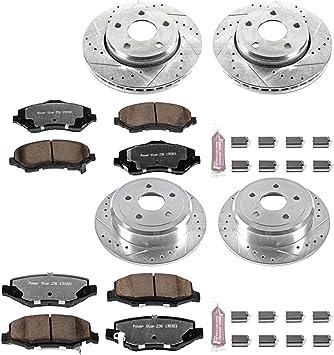 Power Stop K3097-36 Z36 Truck /& Tow Front Brake Kit