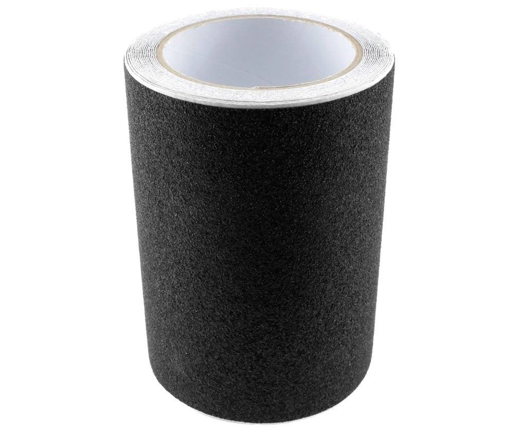 Conformable Black High Grip Anti Slip Tape Non Slip Adhesive Backed Tape 15CMx5M D2D VDTAZ012