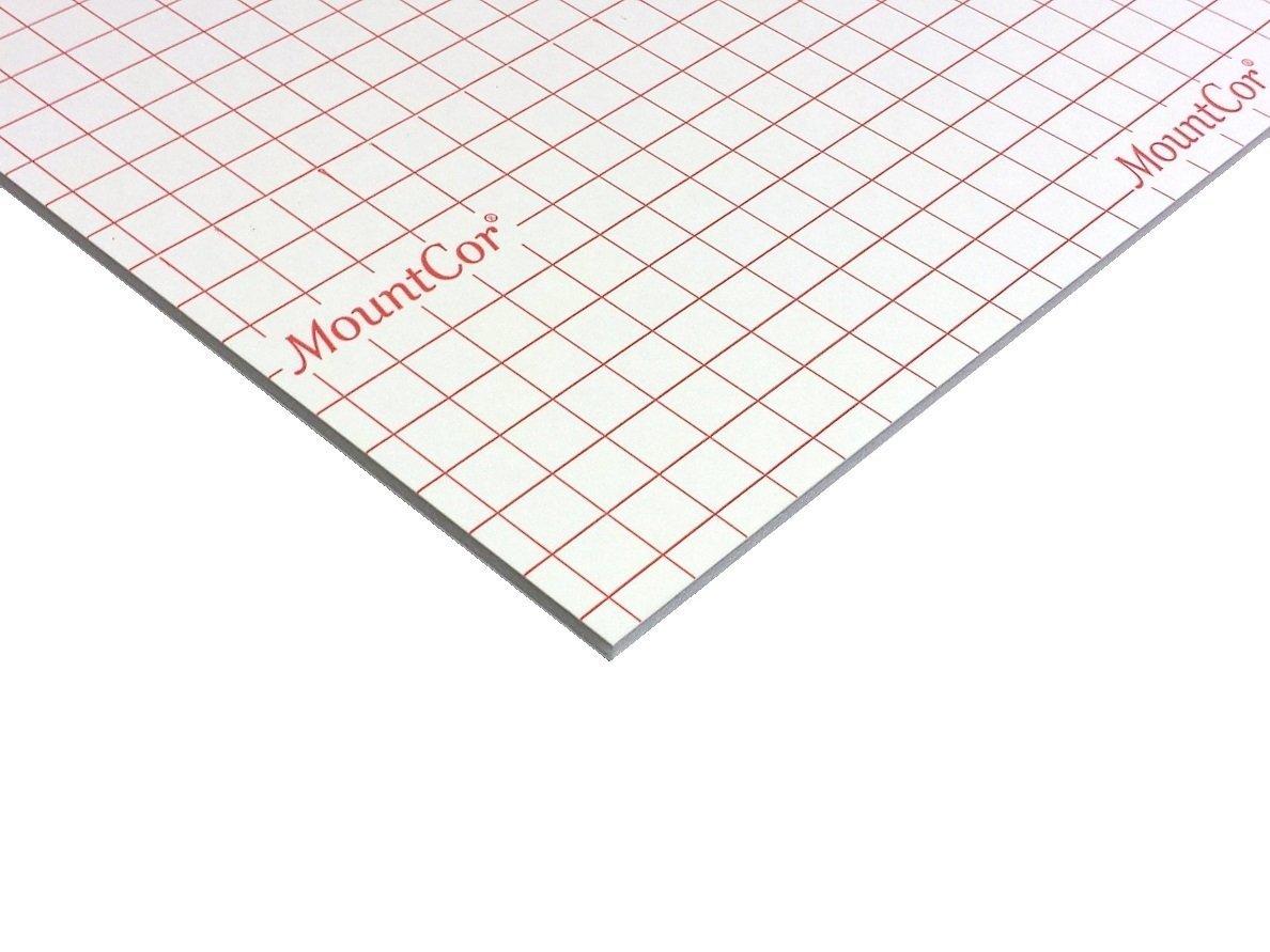 MountCor Heat Adhesive Foam Board - White - 32''x40'' (25)