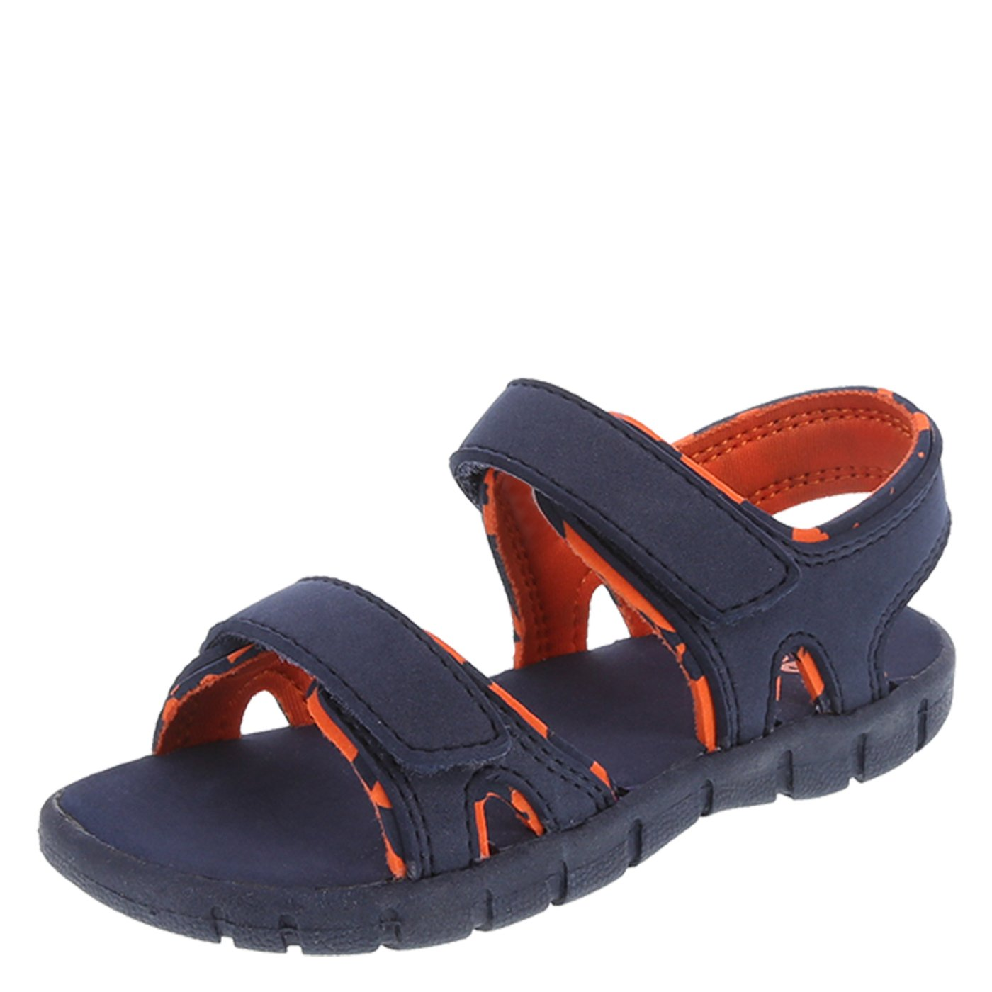 Zoe and Zac Boy's Navy Orange Boys' Toddler Sport Sandal Toddler Size 5 Regular
