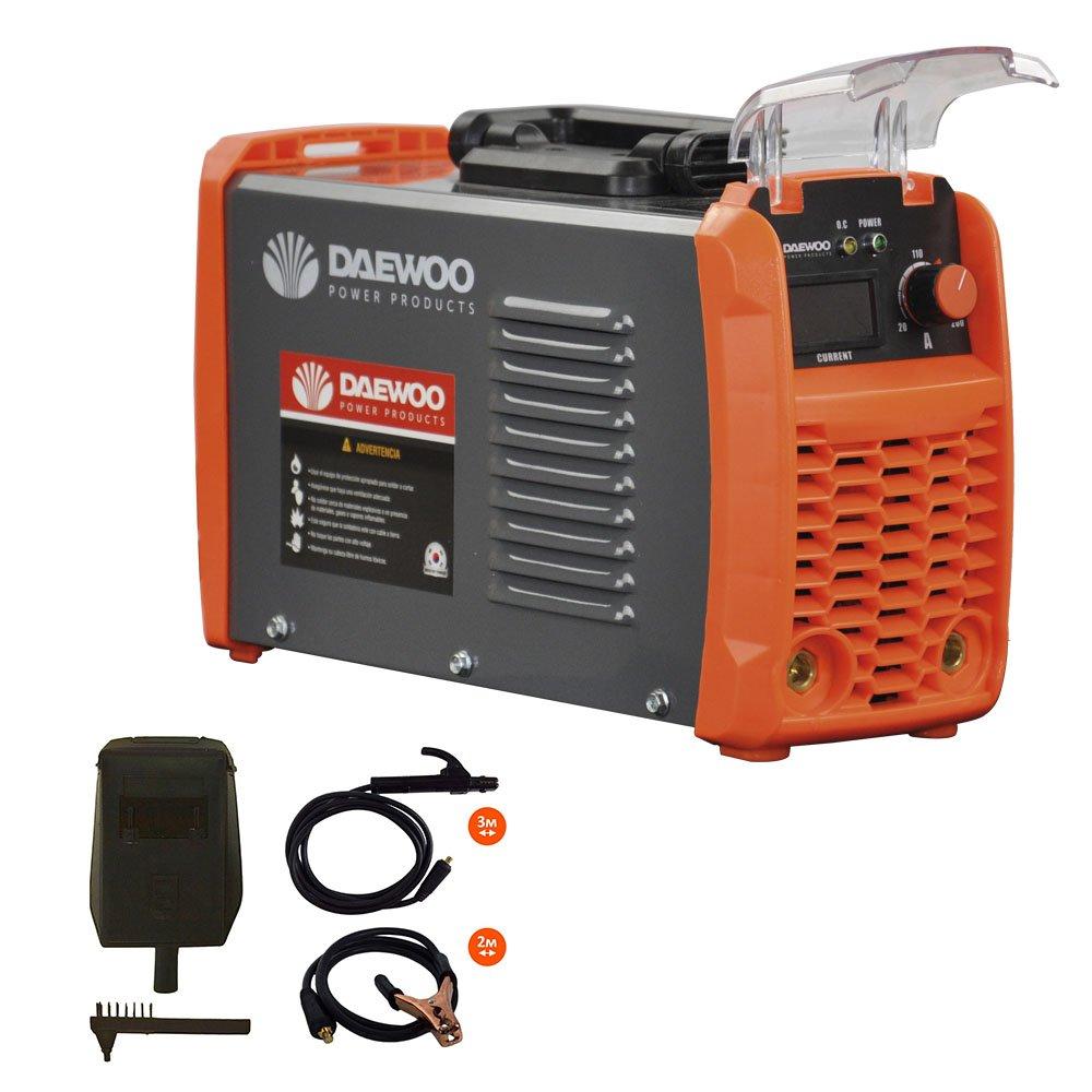 Daewoo Power Products DW160MMA Soldador, Negro / Naranja: Amazon.es: Bricolaje y herramientas