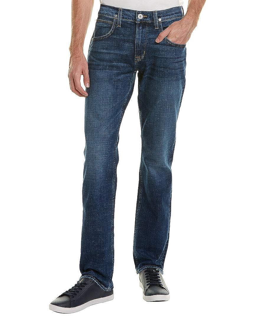 Blue 38 Hudson Jeans Mens Byron Mindset Straight Leg