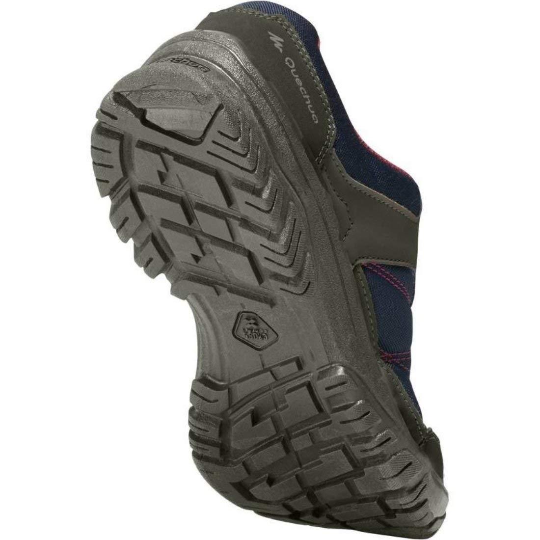 QUECHUA - Zapatillas de Senderismo para Mujer, Color Azul, Talla 37 1/3: Amazon.es: Zapatos y complementos