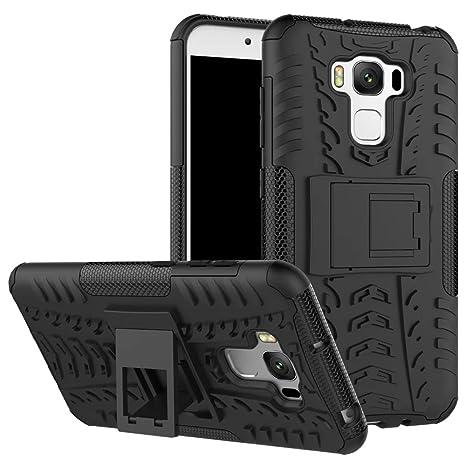 Zenfone 3 Max ZC553KL Funda, [Heavy Duty] Híbrida Rugged ...