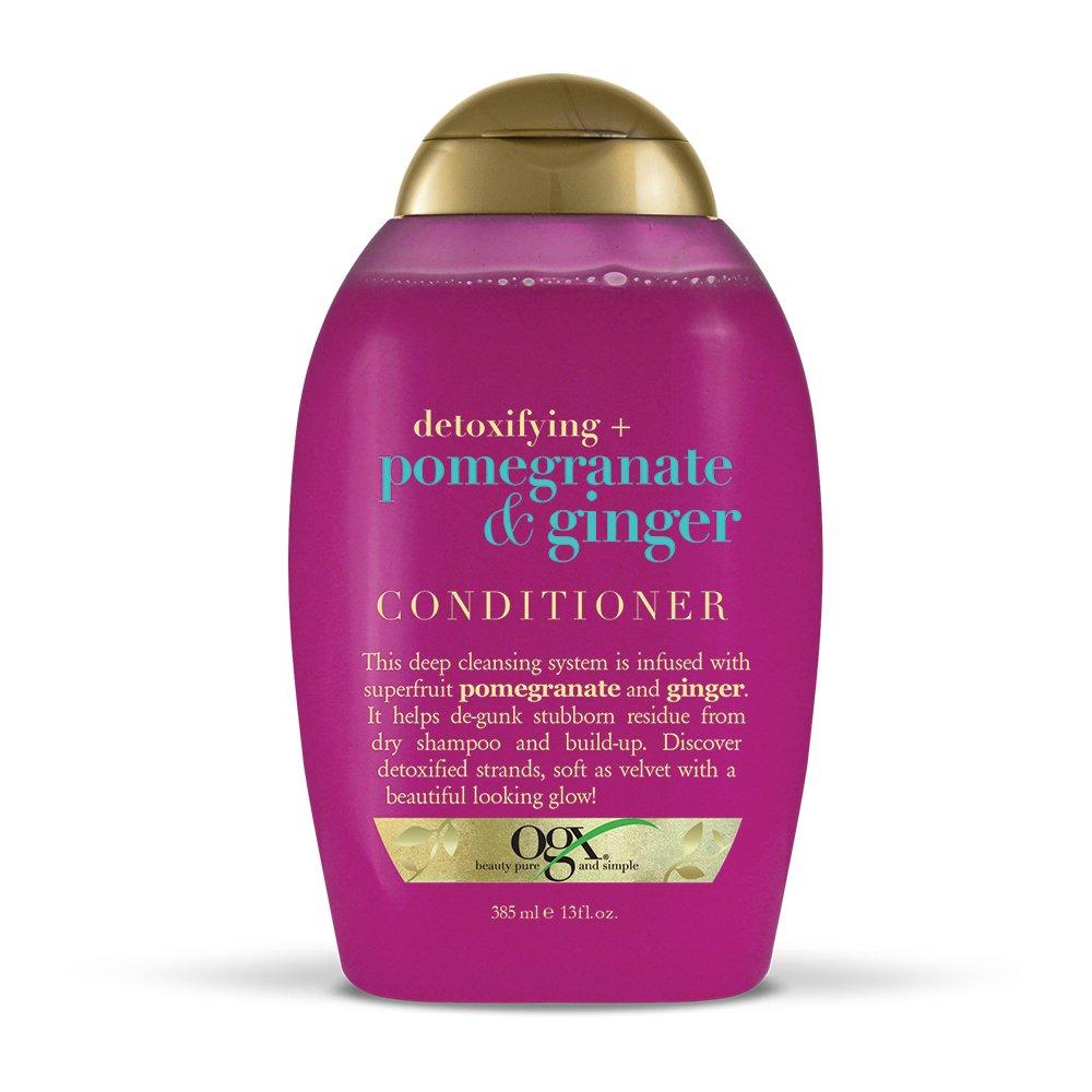 OGX Detoxifying + Pomegranate & Ginger Conditioner 13 Ounce Bottle