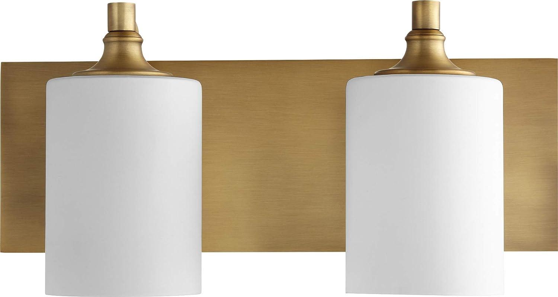 Quorum 5009-2-80 Two Light Vanity