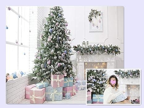 Waw Grosse Weihnachten Foto Hintergrund Kulissen Leinwand Famliy Hochformat Weihnachts Baum Wohnzimmer Hintergrunden Fur Fotografie Christmas 3x2m