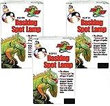 (3 Pack) Zoo Med Repti Basking Spot Lamp 50 watt