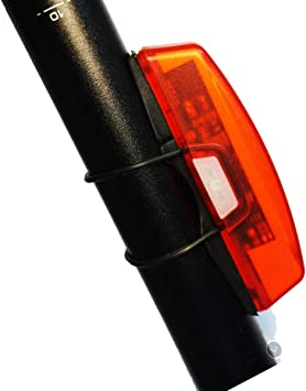 Luz Bicicleta Trasera,Luz Trasera para Bicicleta Recargable USB ...