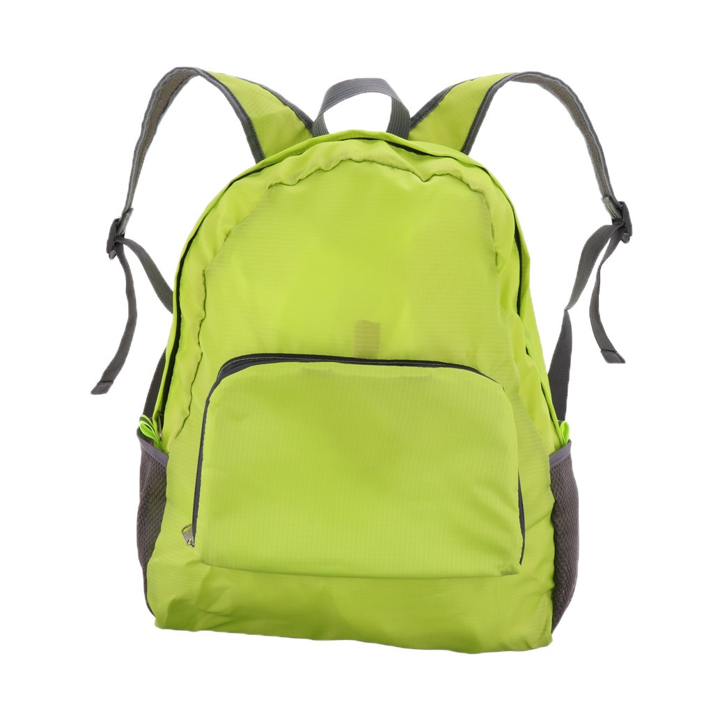 MagiDeal軽量折りたたみバックパック防水Day Pack Packableアウトドアキャンプハイキング旅行パック 42×30×16CM グリーン B07C1YWVBR
