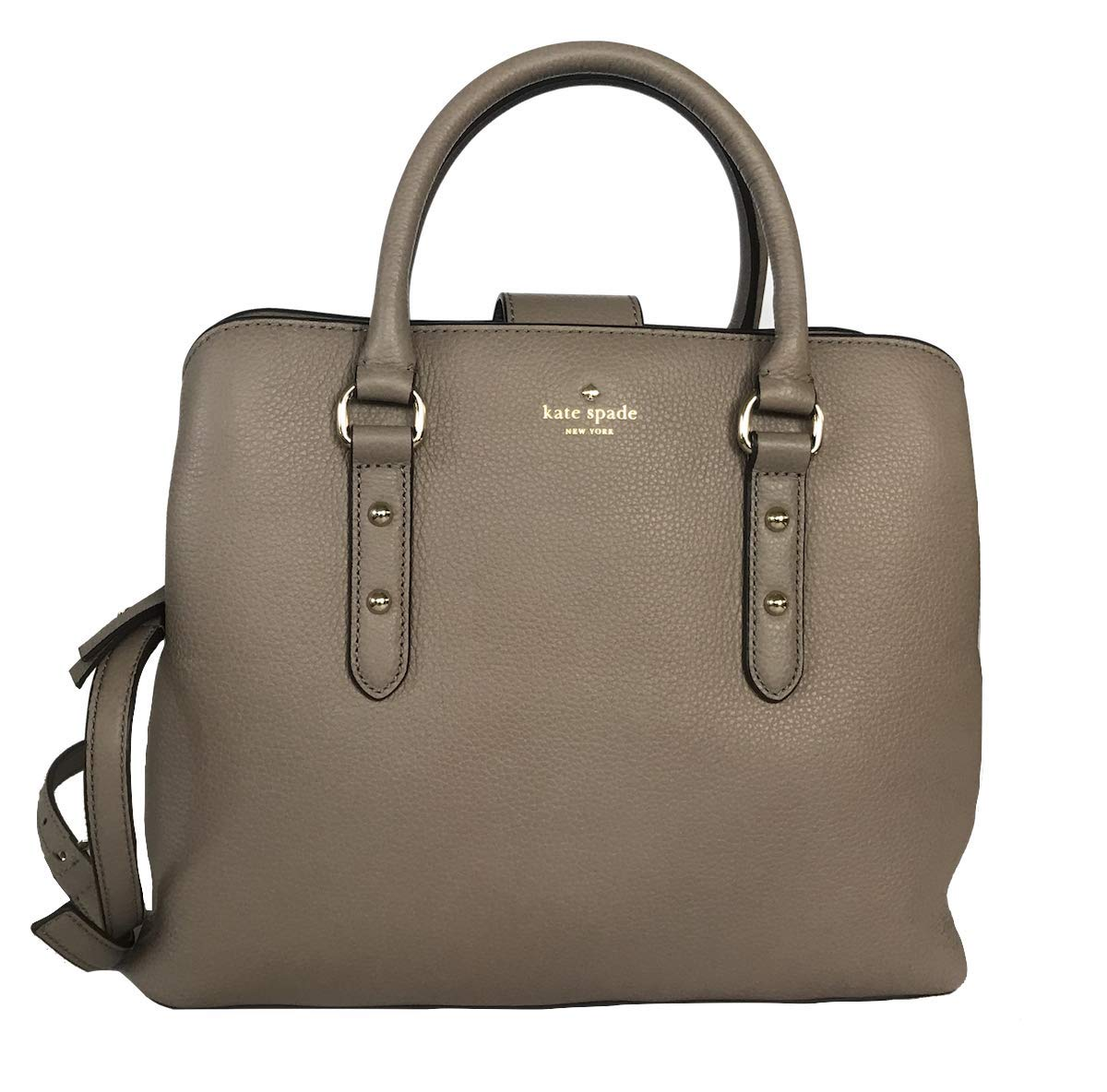 Kate Spade New York Larchmont Avenue Enangelie Womens Top-Handle Crossbody Shoulder Pebble Leather Bag (cityscape)