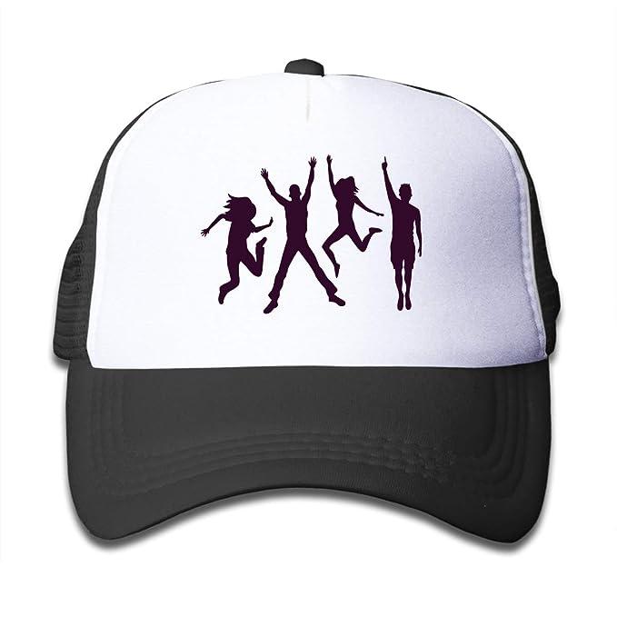 ccf09a02 KING FONG Kids Baseball Caps Mardi Gras Carnival Masquerade Trucker Hat  Summer Mesh Cap Toddler Hats