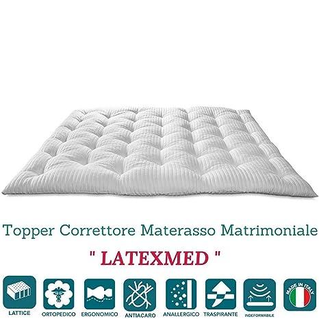 I Materassi In Lattice Sono Buoni.Evergreenweb Correttore Materasso In Lattice Matrimoniale 160x190