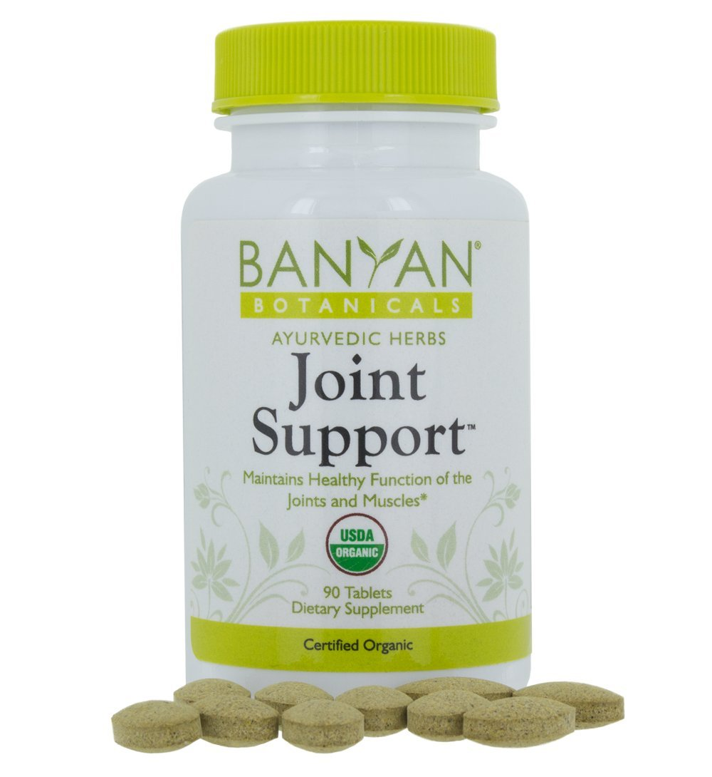 Banyan Botanicals Joint Support - USDA Organic - 90 tablets - Soothing Herbal Relief for Joints and Muscles* by Banyan Botanicals