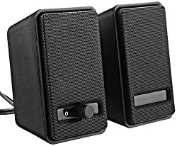 Amazonbasics Usb Powered Computer Speakers (A100), 10-pack