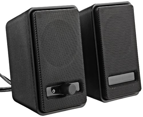 AmazonBasics Twins USB Powered Computer Speakers